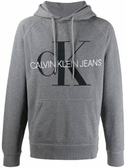 Calvin Klein Jeans толстовка с капюшоном и логотипом J30J313219