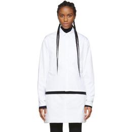 Sportmax White Rolle Shirt Jacket 21160196000