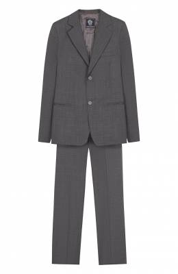 Шерстяной костюм с пиджак на двух пуговицах Dal Lago N010/1011/XS-L
