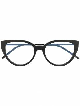 Saint Laurent Eyewear очки в оправе 'кошачий глаз' SLM48A