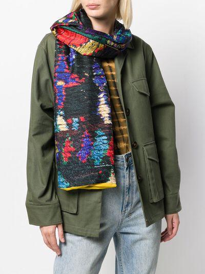 Pierre-louis Mascia шарф Aloewon с принтом ALOEWON065X190D - 2