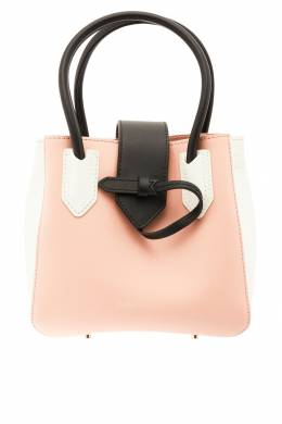 Комбинированная кожаная сумка Emporio Armani 2706126876