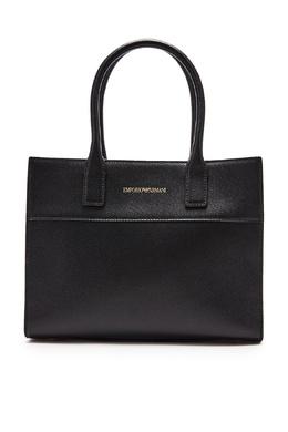 Черная кожаная сумка Bmineral Emporio Armani 2706126896