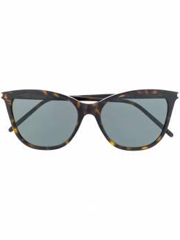 Saint Laurent Eyewear солнцезащитные очки в квадратной оправе SL305