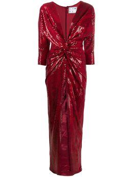 In The Mood For Love вечернее платье Oscar с пайетками 1900100014OSCARDRESS