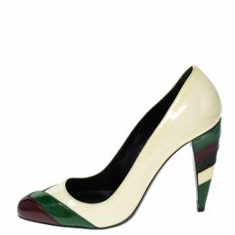 Miu Miu Multicolor Patent Leather Pumps Size 36 230071