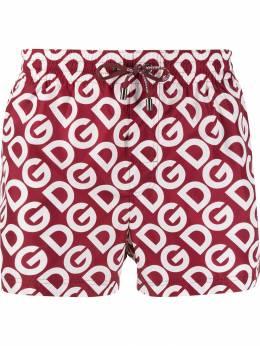Dolce&Gabbana плавки-шорты с логотипом M4A06THSMHF