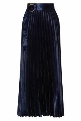 Плиссированная юбка с поясом Sandro 914155318