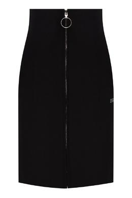 Короткая юбка на молнии Off-White 2202155222