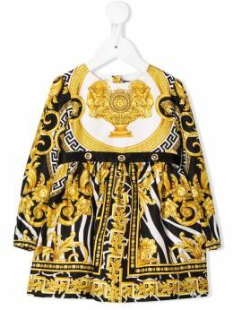 Young Versace - платье с принтом Baroque 66656YA6603995593609