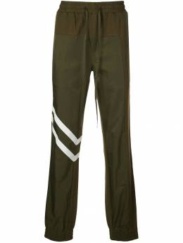 God's Masterful Children спортивные брюки со вставками GMC08AIB26