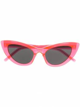 Saint Laurent Eyewear солнцезащитные очки SL 213 Lily в оправе 'кошачий глаз' SL213LILY