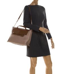 Chloe Tricolor Leather Large Clare Shoulder Bag 228098