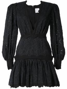 Acler платье мини Montana с оборками AL190711D