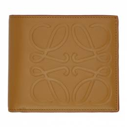 Loewe Tan Anagram Bifold Wallet 106.54A302
