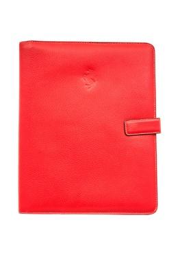 Красный кожаный чехол для iPad Ferrari 1749155508