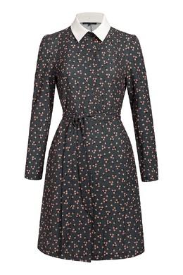 Короткое платье с цветочным принтом Terekhov Girl 2138155589