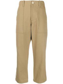 Jejia укороченные брюки прямого кроя 2739J2P010190730