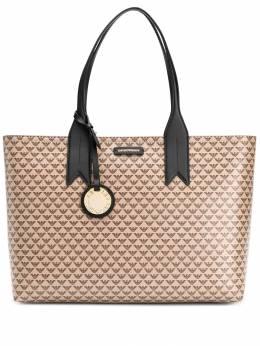 Emporio Armani сумка-тоут с узором и логотипом Y3D099YFG5A