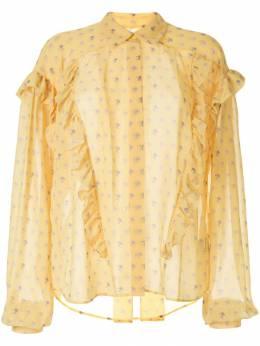 Preen By Thornton Bregazzi блузка с цветочным принтом 043P