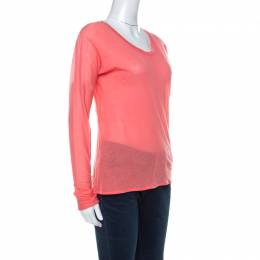 Marni Coral Knit Long Sleeve T-Shirt S 229853