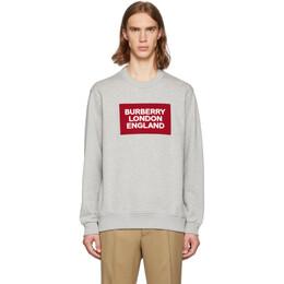 Burberry Grey Fawson Sweatshirt 8021431