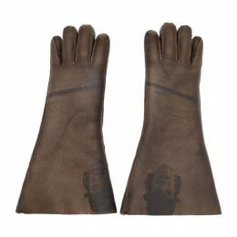 Undercover Brown Shearling A Clockwork Orange Alex Gloves UCX4G02-6