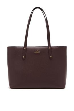 Бордовая сумка Central Tote Coach 2219156047
