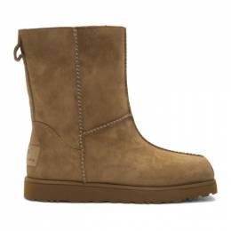 Eckhaus Latta Brown and Off-White UGG Edition Block Boot 1109955