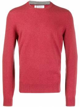 Brunello Cucinelli трикотажный свитер с круглым вырезом M2200100CU852