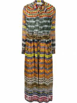 Preen By Thornton Bregazzi платье миди с принтом 223