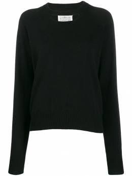 Maison Margiela кашемировый свитер с прорезью S51HA0968S16890