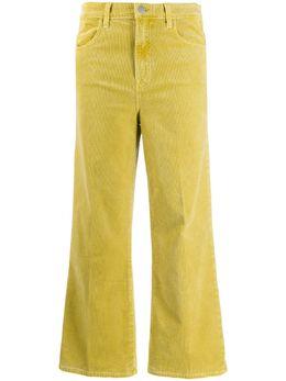 J Brand расклешенные вельветовые брюки JB001689