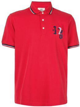 Kent & Curwen рубашка-поло с принтом 1926 K40H9A107075