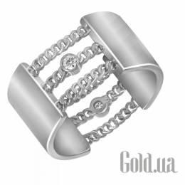 Серебрянное кольцо с кубическим цирконием, 17.5 Nina Ricci 858496X17p5