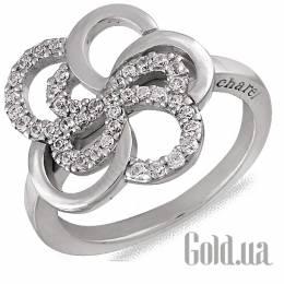 Cacharel Женское серебряное кольцо с куб. циркониями, 18.5 60001X18p5