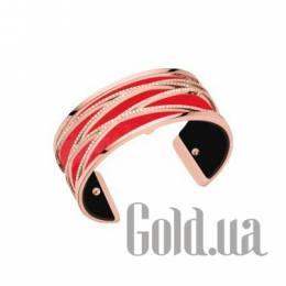 Женский браслет из ювелирного сплава с кожаной вставкой Les Georgettes 1529005X