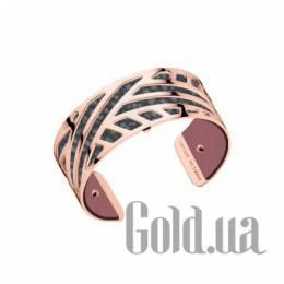 Женский браслет из ювелирного сплава с кожаной вставкой Les Georgettes 1529038X