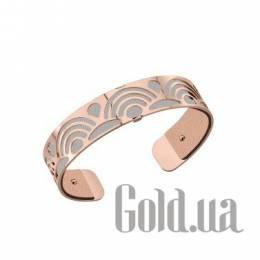 Женский браслет из ювелирного сплава с кожаной вставкой Les Georgettes 1528890X
