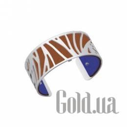 Женский браслет из ювелирного сплава с кожаной вставкой Les Georgettes 1529036X
