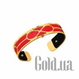 Женский браслет из ювелирного сплава с кожаной вставкой Les Georgettes 1528944X