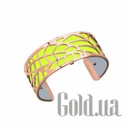 Женский браслет из ювелирного сплава с кожаной вставкой Les Georgettes 1529025X