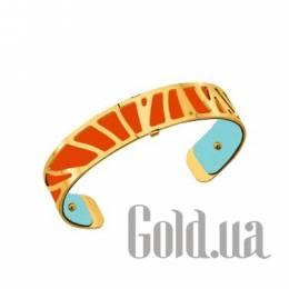 Женский браслет из ювелирного сплава с кожаной вставкой Les Georgettes 1528907X