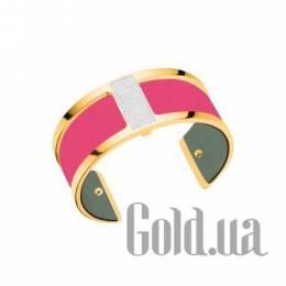 Женский браслет из ювелирного сплава с кожаной вставкой Les Georgettes 1529006X