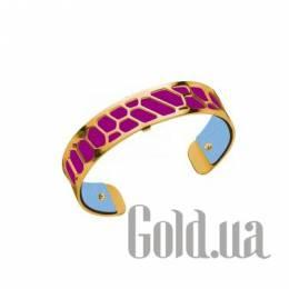 Женский браслет из ювелирного сплава с кожаной вставкой Les Georgettes 1528952X