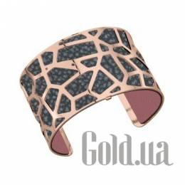 Женский браслет из ювелирного сплава с кожаной вставкой Les Georgettes 1528830X