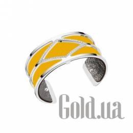 Женский браслет из ювелирного сплава с кожаной вставкой Les Georgettes 1529009X