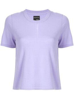 Nagnata футболка с разрезом спереди M030PHCB