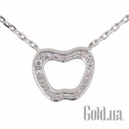 Золотой кулон с цепочкой с бриллиантами, 45 Nina Ricci 875X45