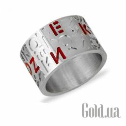 Серебряное обручальное кольцо, 18.5 Kenzo 30195X18p5